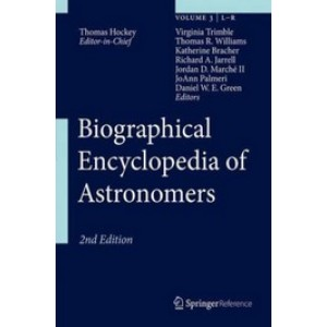 Biographical Encyclopedia of Astronomers, 4 Volumes Set, 2nd Edition