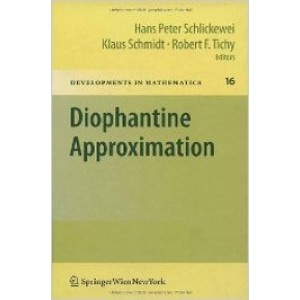 Diophantine Approximation: Festschrift for Wolfgang Schmidt