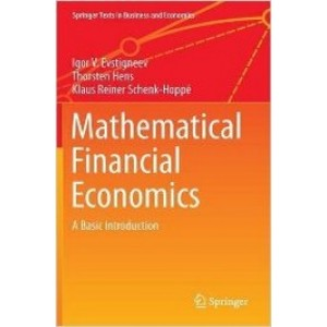 Mathematical Financial Economics: A Basic Introduction