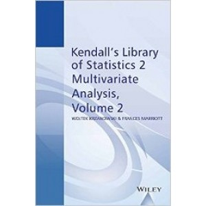 Multivariate Analysis: Kendall's Library of Statistics, Volume 2, Part 2