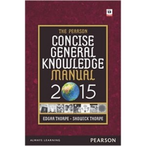 The Pearson Concise General Knowledge Manual 2015 (English)